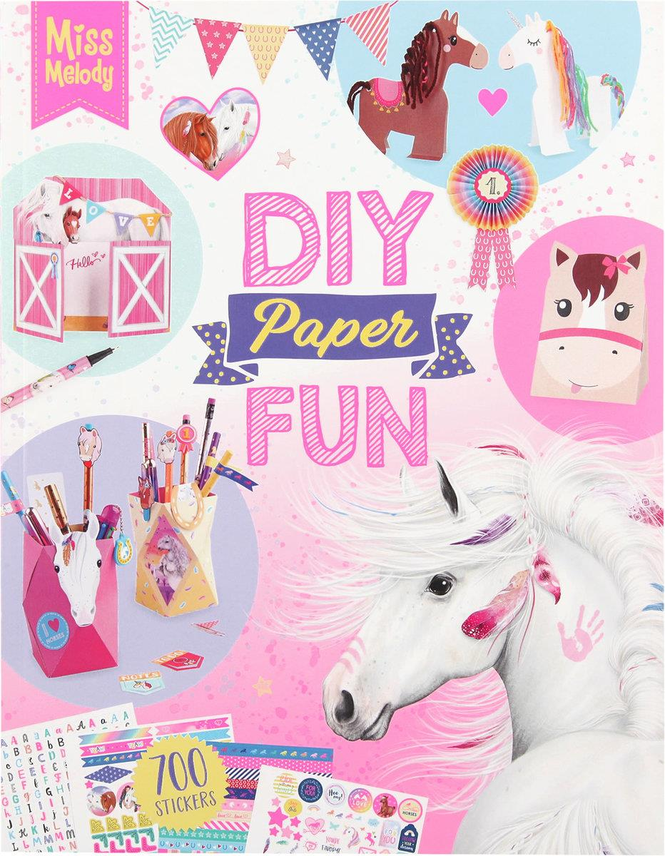 Depesche Miss Melody DIY Paper Fun Book