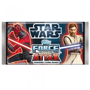 Topps Trading Card Game Star Wars Force Attax Serie 3 1 Booster
