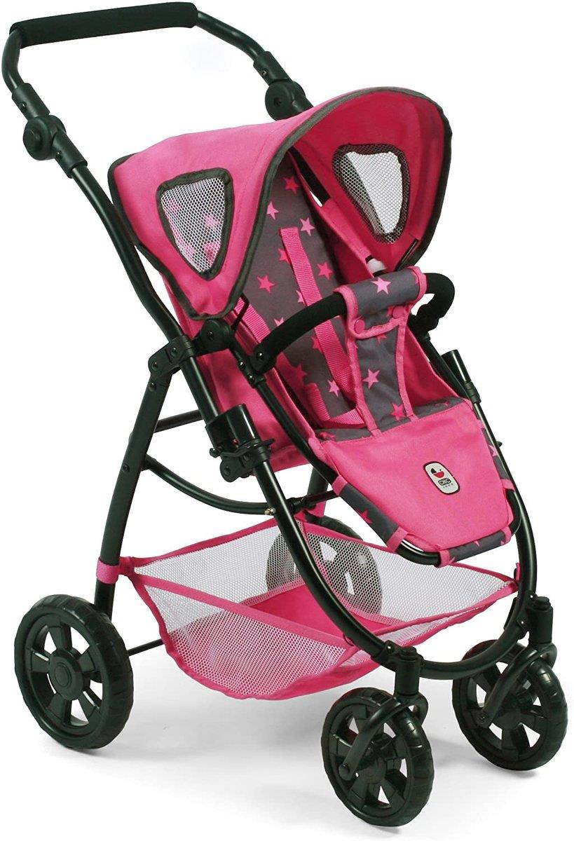 Bayer Chic 3 in 1 Kombi EMOTION ALL IN, Sternchen Pink