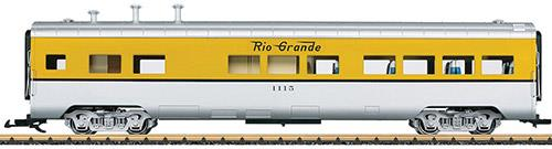 LGB Denver & Rio Grande Dining Car