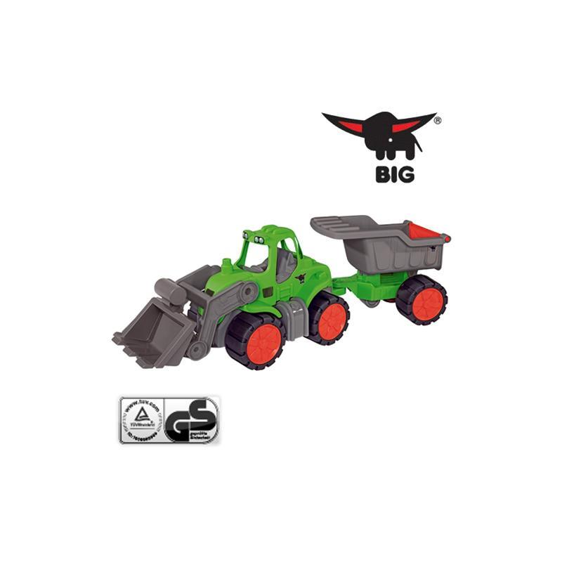 BIG Power-Traktor und Muldenkipper