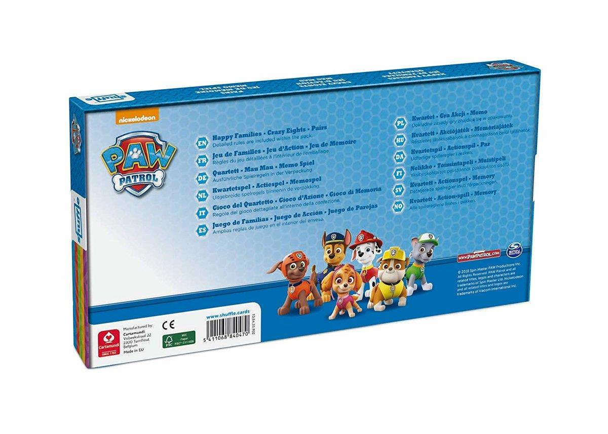 ASS Altenburger Spielebox Paw Patrol