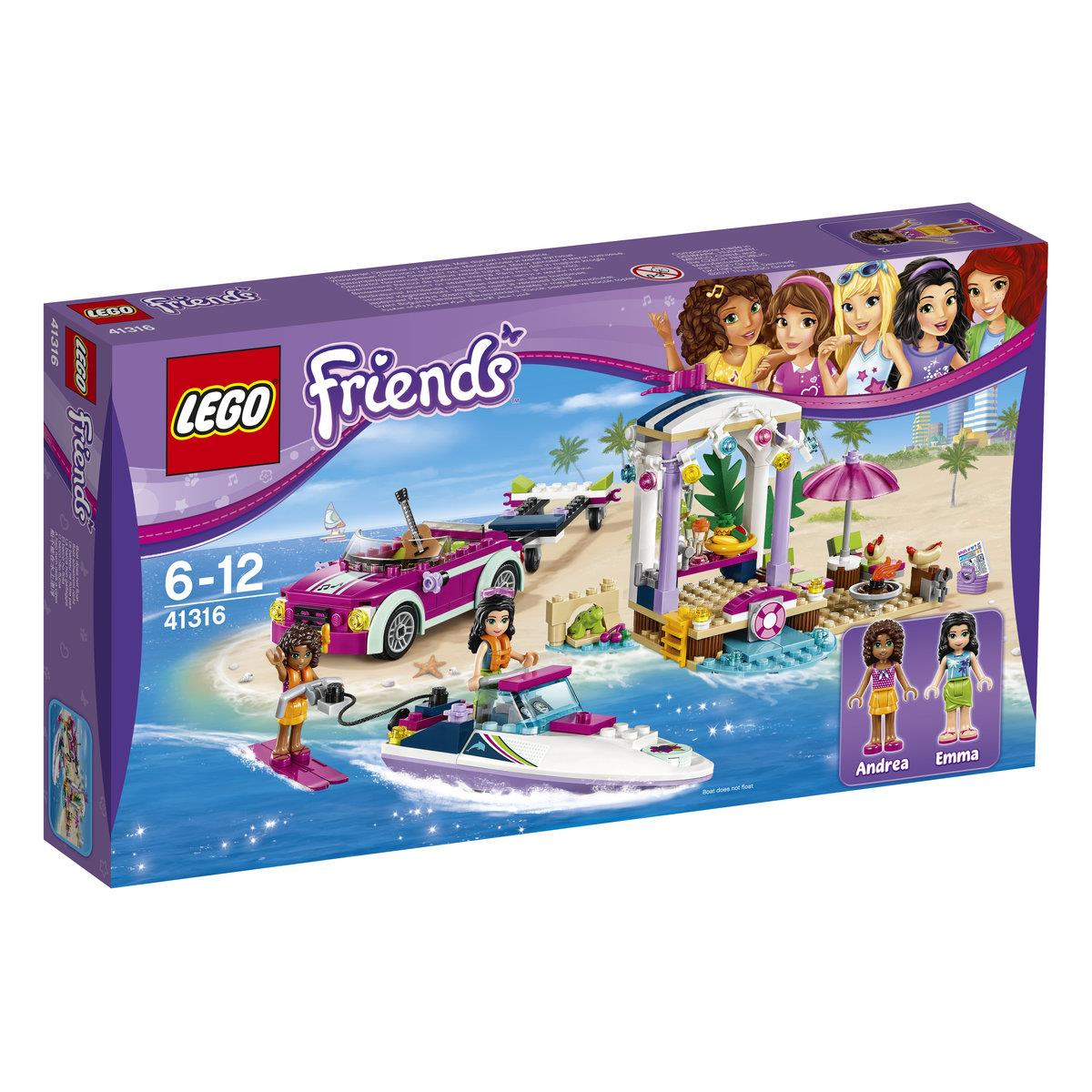 LEGO® Friends 41316 Andreas Rennboot-Transporter