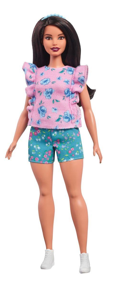 Barbie Fashionistas Puppe mit rosa Shirt