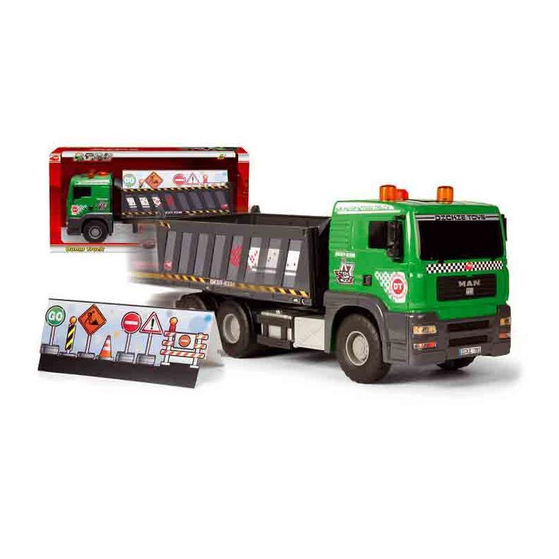 Dickie Toys Pump Action Dump Truck inklusive