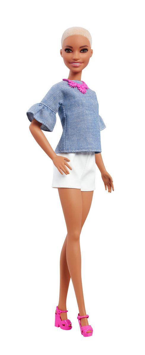 Barbie Fashionistas Puppe Chic in Chambray