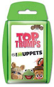 Winning Moves Top Trumps Die Muppets