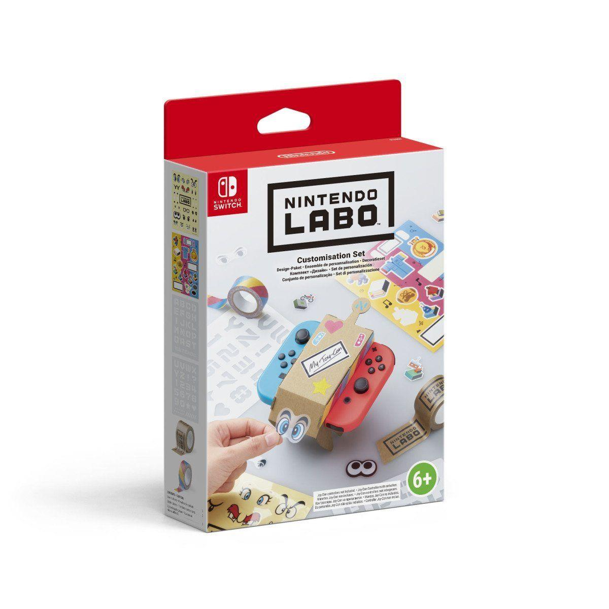 Nintendo Switch Labo: Design-Paket