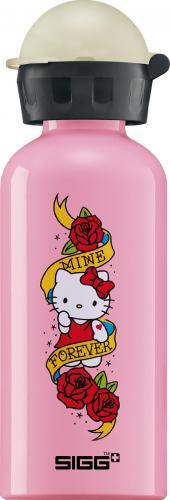 sigg trinkflasche 0 4l hello kitty tattoo duo. Black Bedroom Furniture Sets. Home Design Ideas