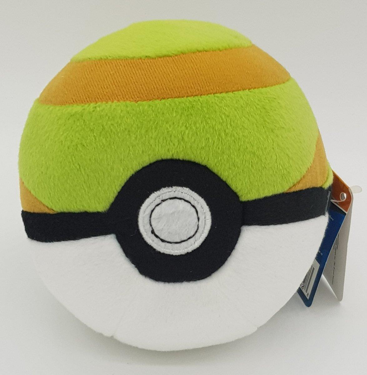 TOMY Pokémon Plüsch Pokéball Nest Ball