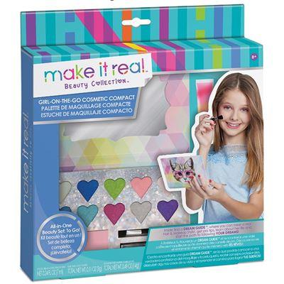 Make it real Girl-on-the-Go Cosmetic Set Compact