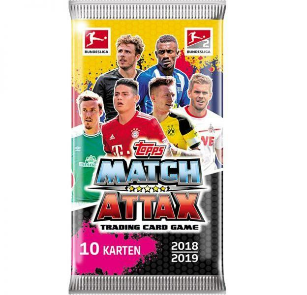 Topps Match Attax Booster, 2018/2019