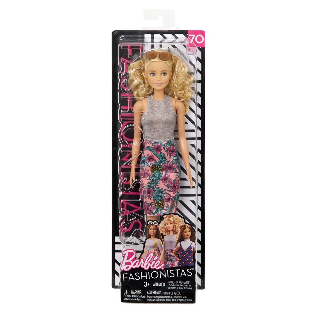 Barbie Fashionistas Puppe Pineapple Pop