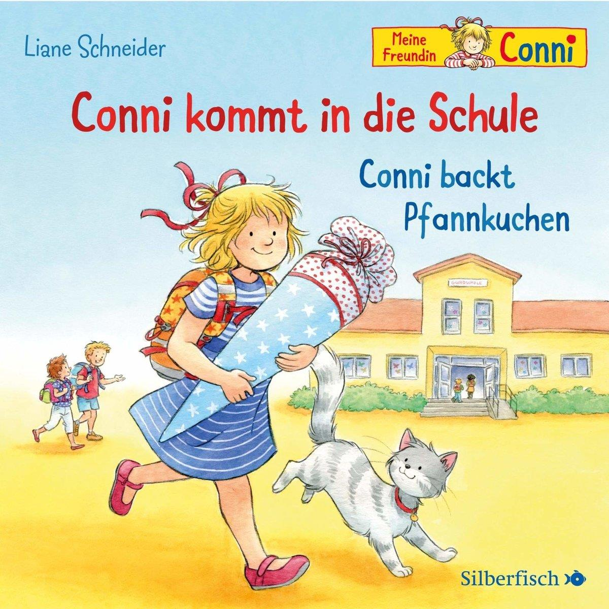 ars Edition Conni kommt in die Schule / Conni backt Pfannkuchen CD