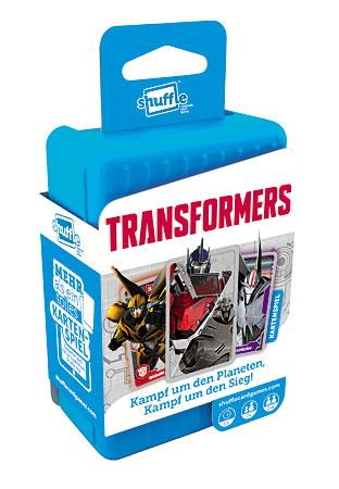 ASS Altenburger Shuffle Kartenspiel Transformers