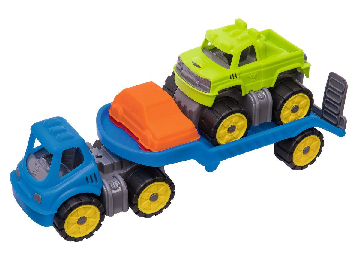 BIG Power-Worker Mini Monstertruck-Set