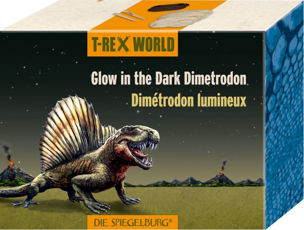 Die Spiegelburg Glow in the Dark Dimetrodon T-Rex World