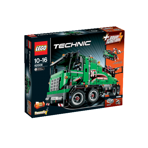 lego technic 42008 abschlepptruck duo. Black Bedroom Furniture Sets. Home Design Ideas