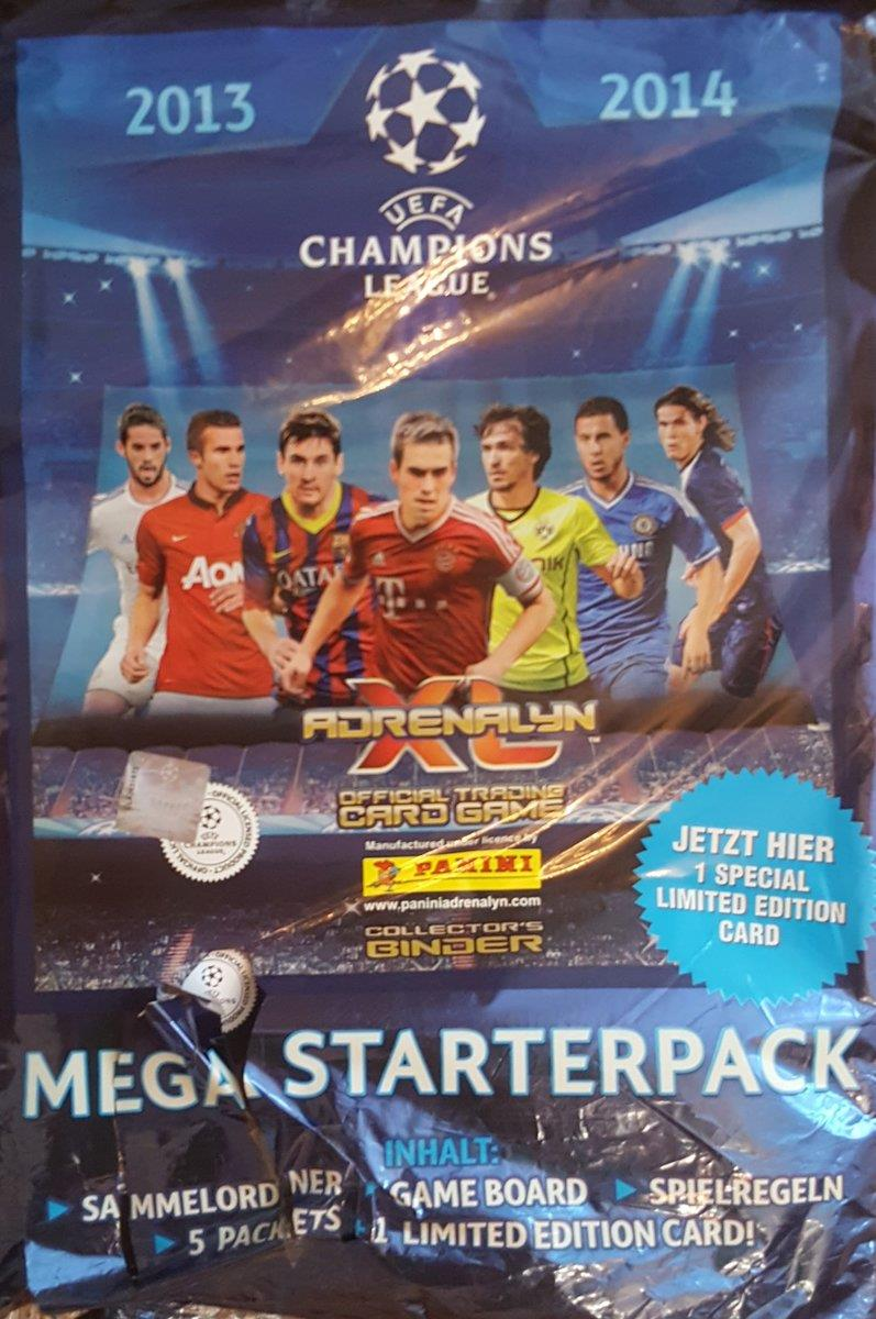 Panini UEFA Champion League 2013/2014 Mega Starterpack