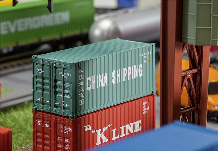 FALLER 180828 20 Container CHINA SHIPPING
