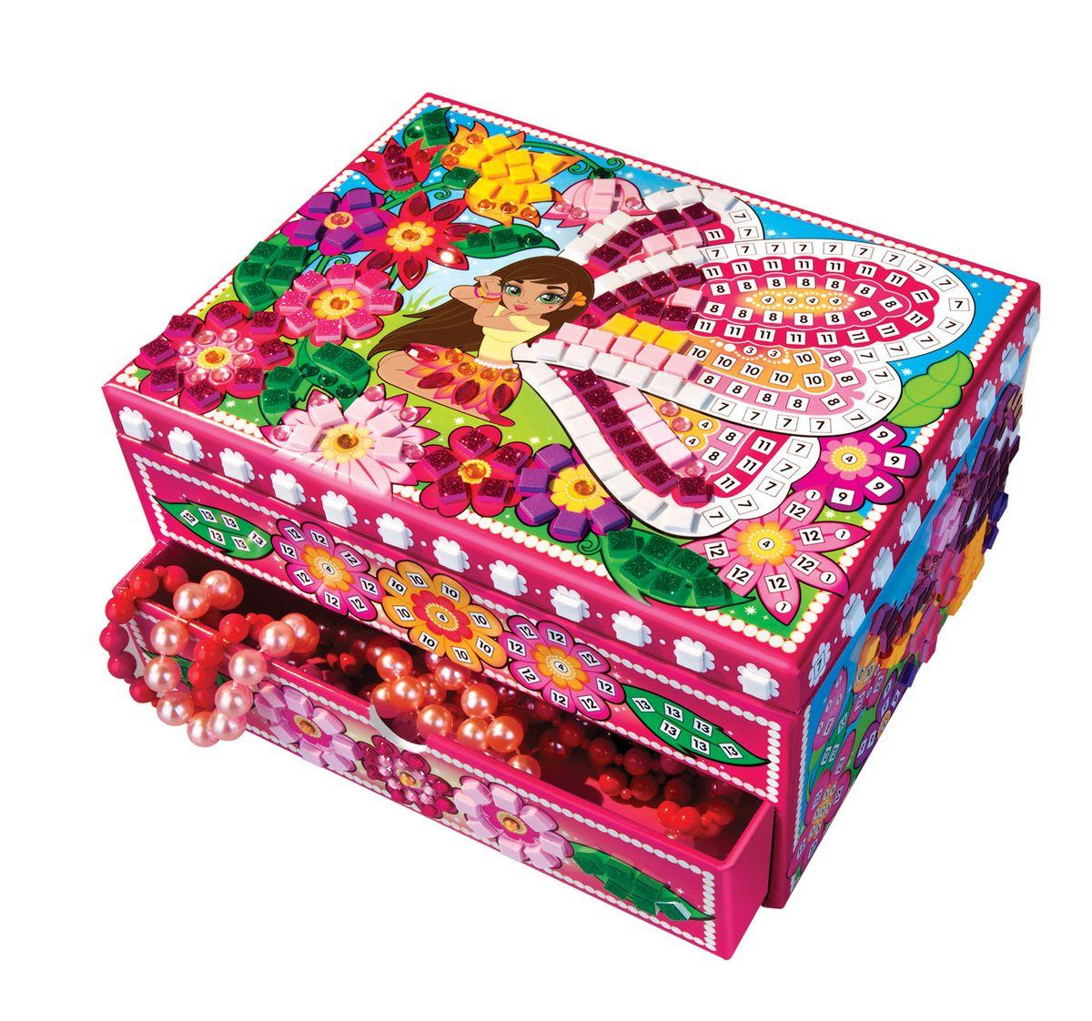 Sticky Mosaics Fairy Jewelry Box