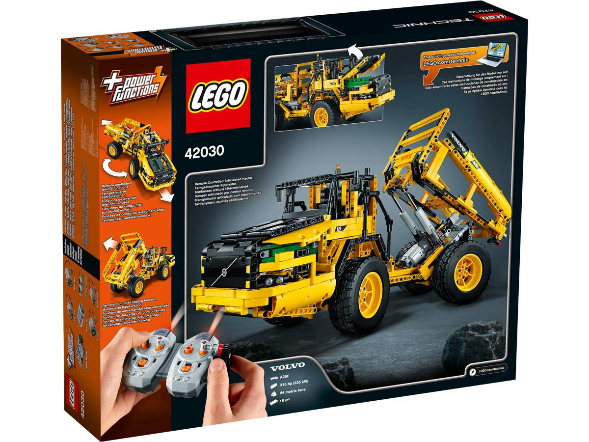 lego technic 42030 volvo l350f radlader duo. Black Bedroom Furniture Sets. Home Design Ideas