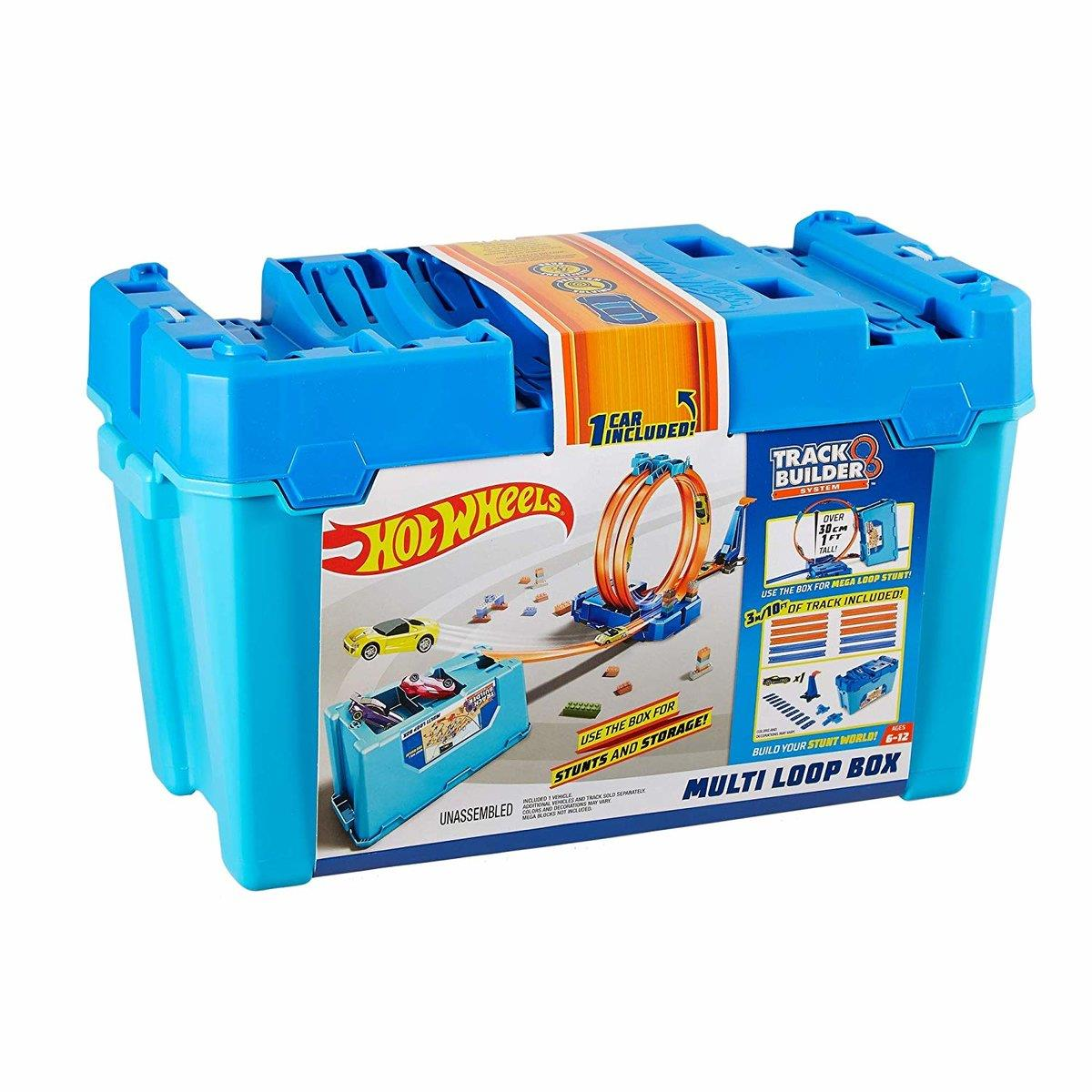 Hot Wheels Track Builder Super Multi Loop Box
