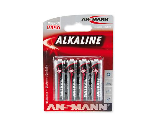 Ansmann Racing Alkanie red AA 4er Pack
