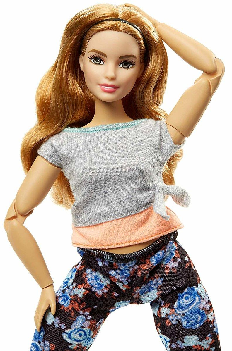 Barbie Made to Move Puppe, blond