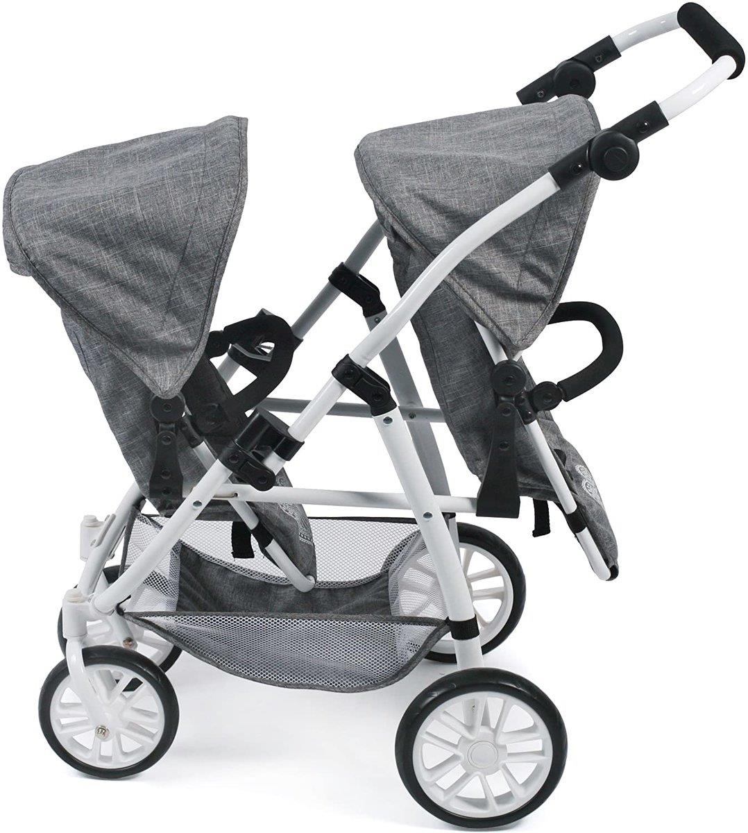 Bayer Chic Tandembuggy VARIO, Jeans Grey