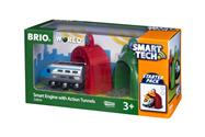 BRIO World Smart Tech Zug mit Actiontunnels