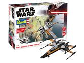 Revell Star Wars Poe's Boosted X-wing Fighter, Maßstab 1:78