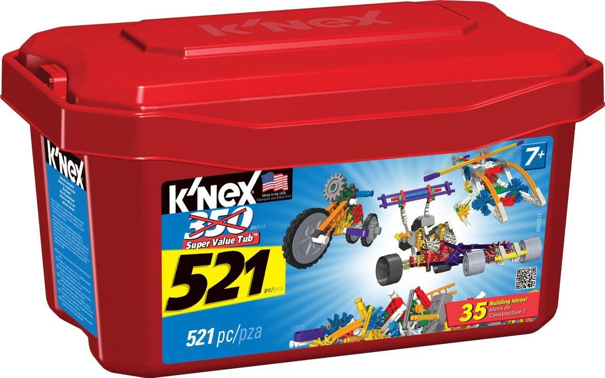 Knex 33121 Bauset Super Value Tub 521 Teile Duo Shop De