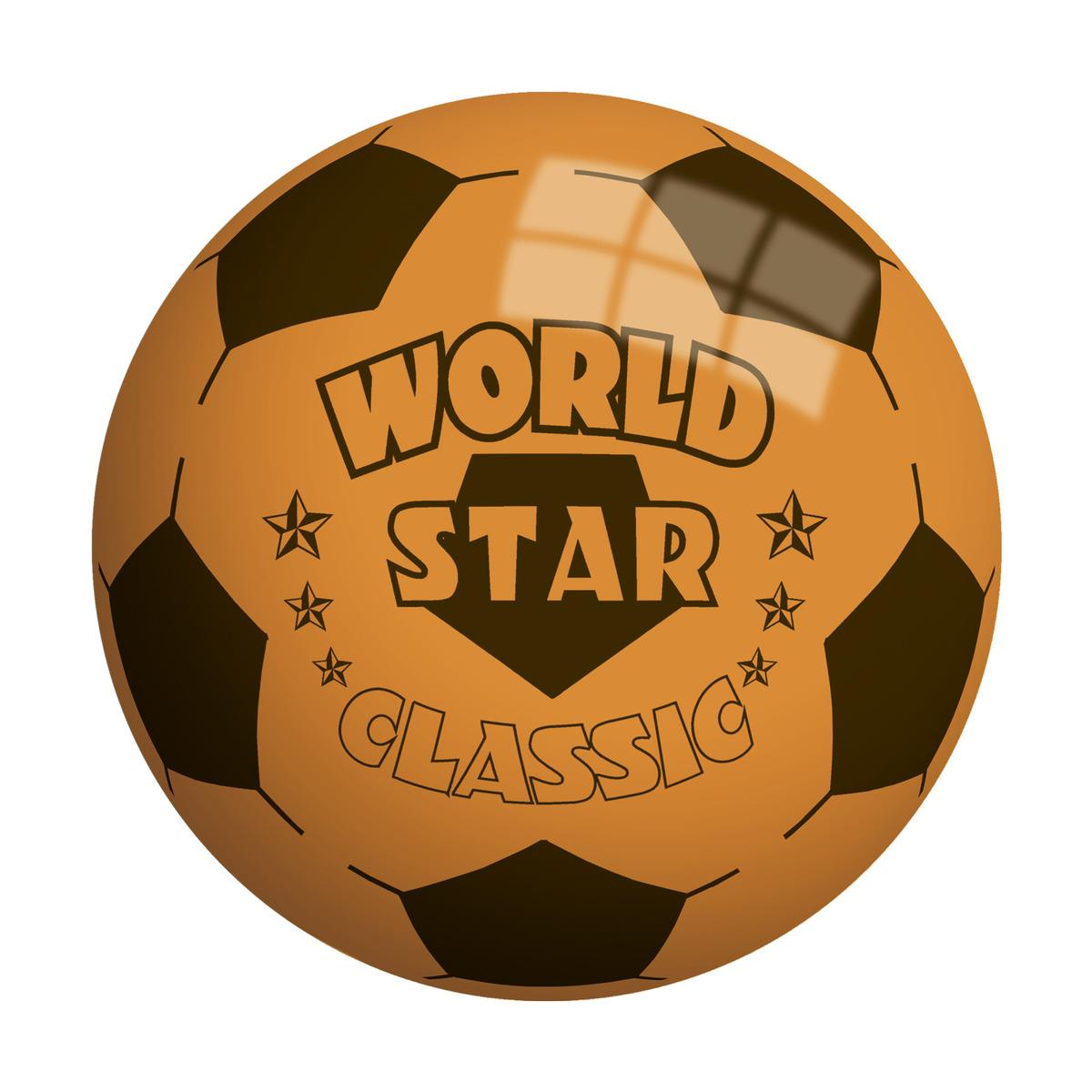 "Idena Ball World Star 5"" , sortiert"