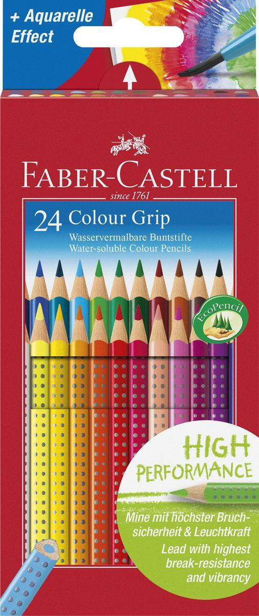 faber castell buntstift colour grip 24er kartonetui duo. Black Bedroom Furniture Sets. Home Design Ideas
