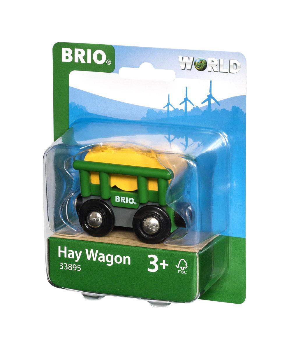 BRIO World Heuwagen mit Kippfunktion