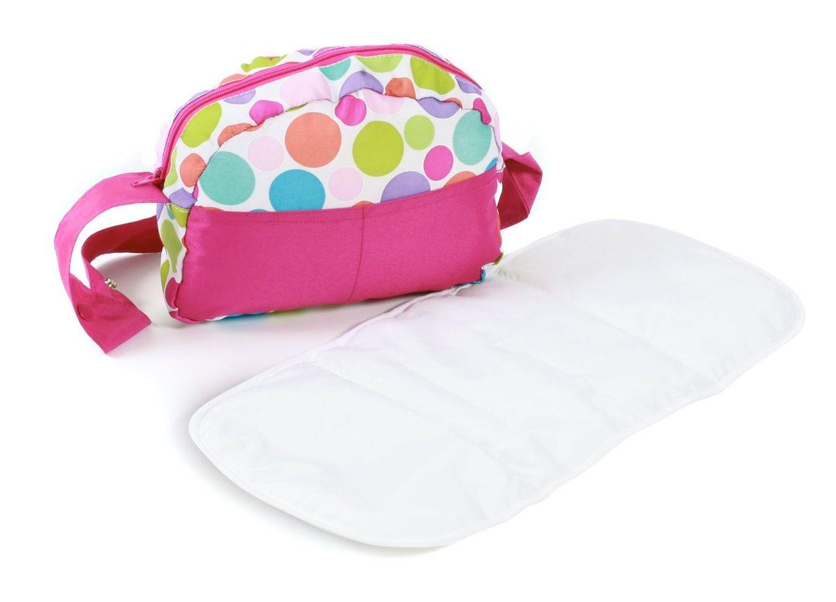 Bayer Chic Puppen-Wickeltasche Pinky Bubbles