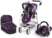 Bayer Chic 3 in 1 Kombi EMOTION ALL IN Stars lila