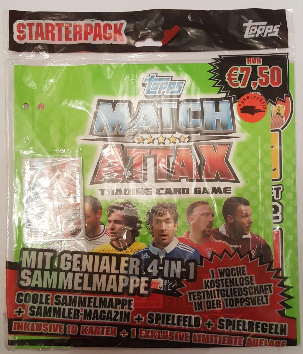 Topps Match Attax Starter-Set Bundesliga 11/12