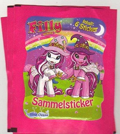 Dracco Filly Witchy Sammelsticker, 1 Tüte à 6 Sticker
