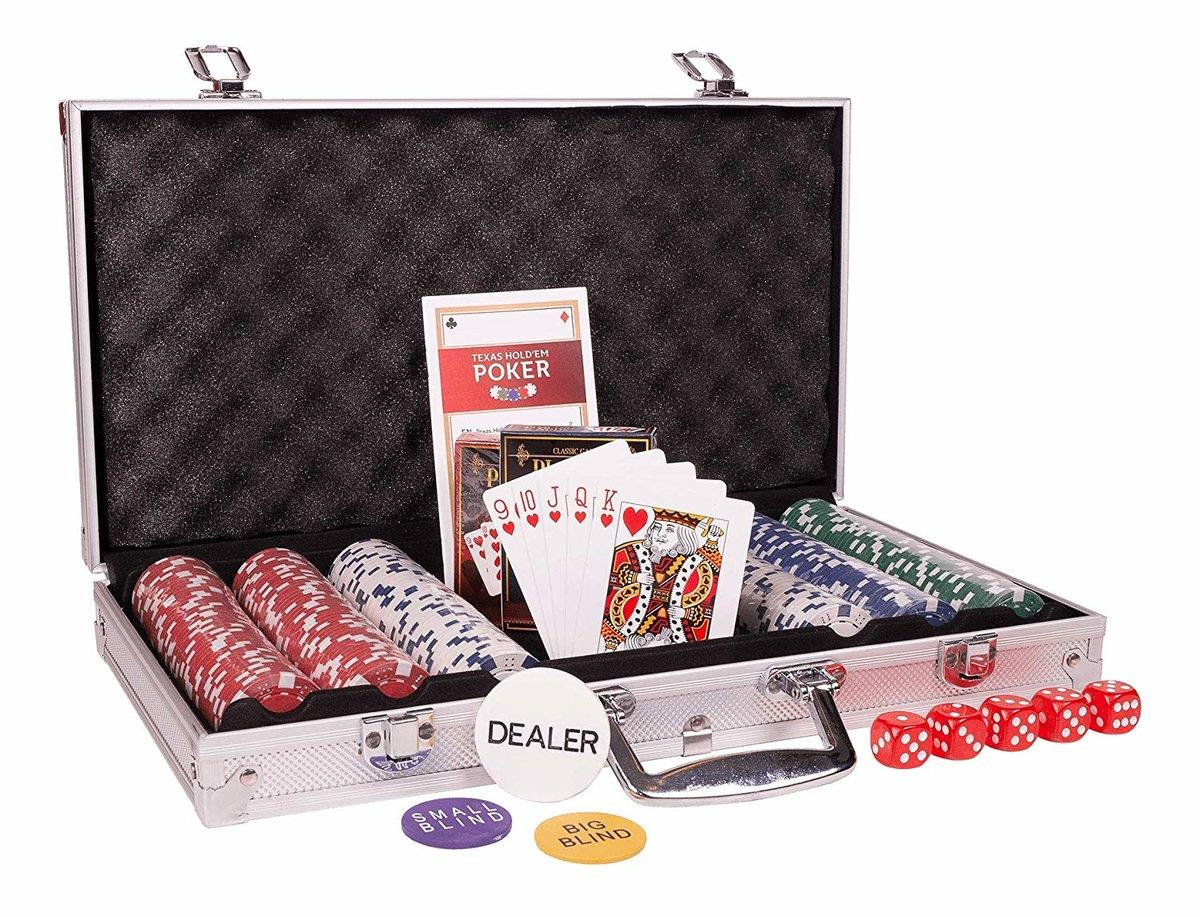 ASS Altenburger Pokerkoffer mit 300 Chips