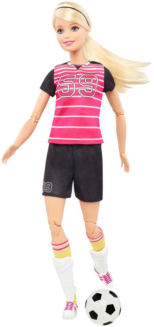 Barbie Made to Move Sportlerin, sortiert